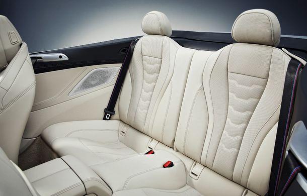BMW Seria 8 Cabrio, poze și informații oficiale: motorizări de până la 530 CP și 15 secunde pentru plierea plafonului din material textil - Poza 51