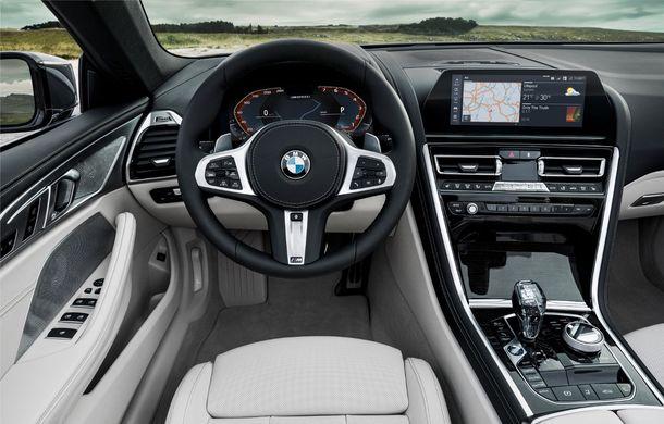 BMW Seria 8 Cabrio, poze și informații oficiale: motorizări de până la 530 CP și 15 secunde pentru plierea plafonului din material textil - Poza 39