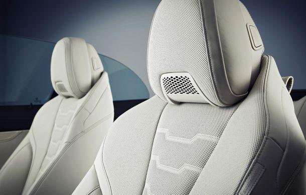 BMW Seria 8 Cabrio, poze și informații oficiale: motorizări de până la 530 CP și 15 secunde pentru plierea plafonului din material textil - Poza 50