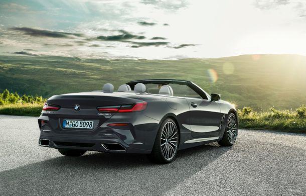 BMW Seria 8 Cabrio, poze și informații oficiale: motorizări de până la 530 CP și 15 secunde pentru plierea plafonului din material textil - Poza 26