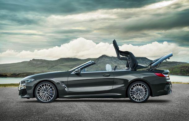 BMW Seria 8 Cabrio, poze și informații oficiale: motorizări de până la 530 CP și 15 secunde pentru plierea plafonului din material textil - Poza 15
