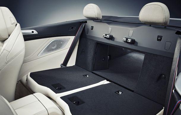 BMW Seria 8 Cabrio, poze și informații oficiale: motorizări de până la 530 CP și 15 secunde pentru plierea plafonului din material textil - Poza 52