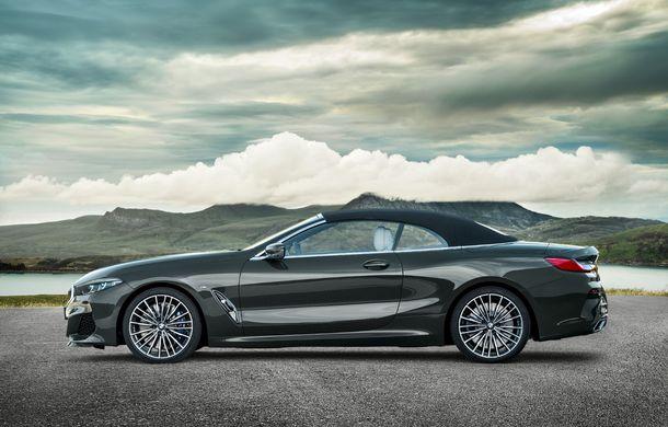BMW Seria 8 Cabrio, poze și informații oficiale: motorizări de până la 530 CP și 15 secunde pentru plierea plafonului din material textil - Poza 17