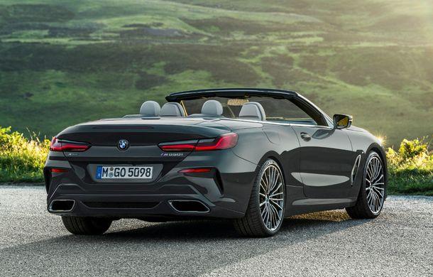 BMW Seria 8 Cabrio, poze și informații oficiale: motorizări de până la 530 CP și 15 secunde pentru plierea plafonului din material textil - Poza 27