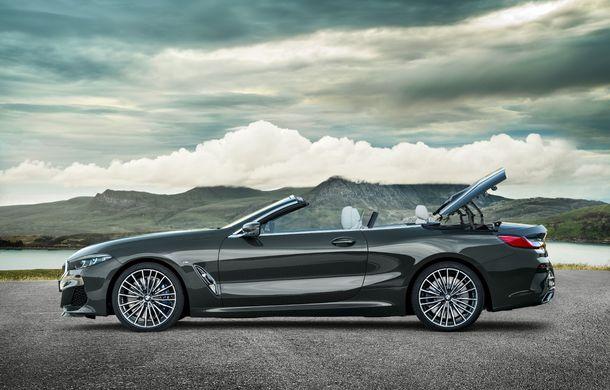 BMW Seria 8 Cabrio, poze și informații oficiale: motorizări de până la 530 CP și 15 secunde pentru plierea plafonului din material textil - Poza 14