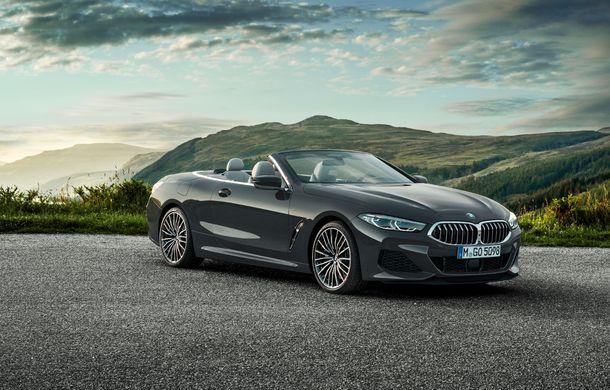 BMW Seria 8 Cabrio, poze și informații oficiale: motorizări de până la 530 CP și 15 secunde pentru plierea plafonului din material textil - Poza 8