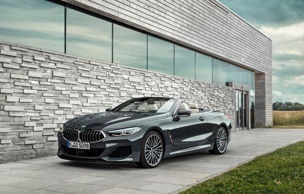 BMW Seria 8 Cabrio, poze și informații oficiale: motorizări de până la 530 CP și 15 secunde pentru plierea plafonului din material textil - Poza 9