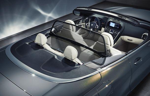 BMW Seria 8 Cabrio, poze și informații oficiale: motorizări de până la 530 CP și 15 secunde pentru plierea plafonului din material textil - Poza 46