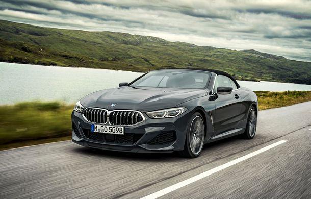 BMW Seria 8 Cabrio, poze și informații oficiale: motorizări de până la 530 CP și 15 secunde pentru plierea plafonului din material textil - Poza 4