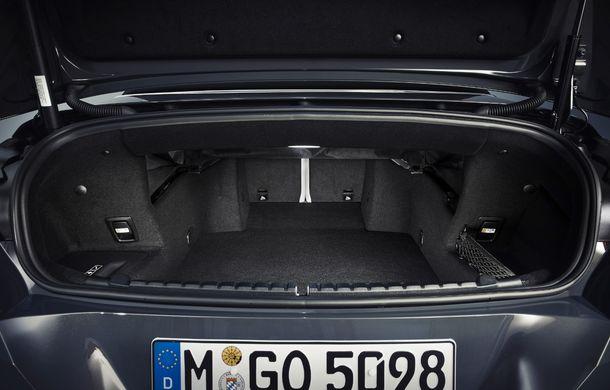 BMW Seria 8 Cabrio, poze și informații oficiale: motorizări de până la 530 CP și 15 secunde pentru plierea plafonului din material textil - Poza 53