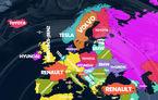 Cele mai căutate mărci auto pe Google: Volkswagen este lider în România, Toyota câștigă în cele mai multe țări