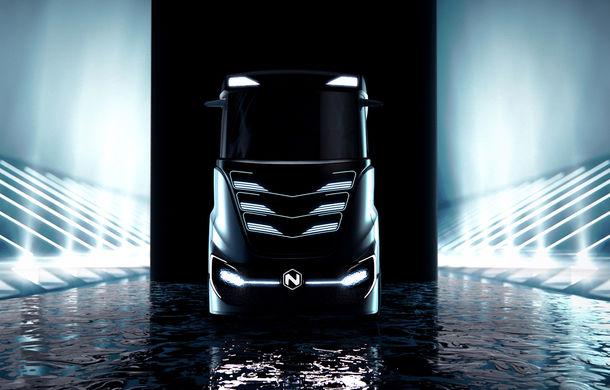 Primele teasere cu Nikola Tre: capul tractor alimentat cu hidrogen cu autonomie de 1.200 kilometri apare în Europa în 2023 - Poza 3