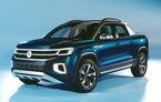 Volkswagen a prezentat noul concept Tarok: cutie automată și tracțiune integrală pentru pick-up-ul destinat pieței din Brazilia