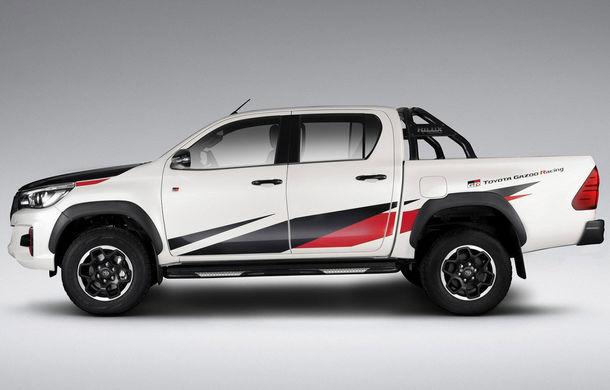 Toyota a prezentat noul Hilux GR Sport: ediția specială dedicată pieței din Brazilia va fi produsă în doar 420 de exemplare - Poza 1