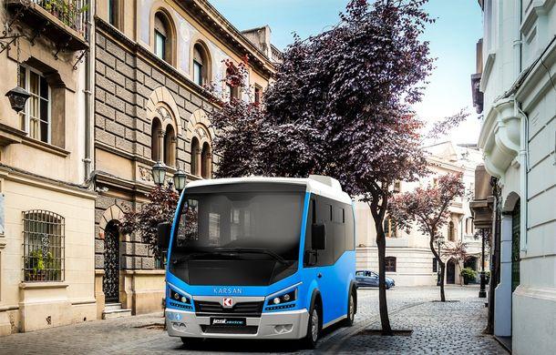 Autobuzul electric cu tehnologie de BMW i3: Karsan Jest Electric are autonomie de 210 kilometri și a primit comenzi inclusiv în România - Poza 2