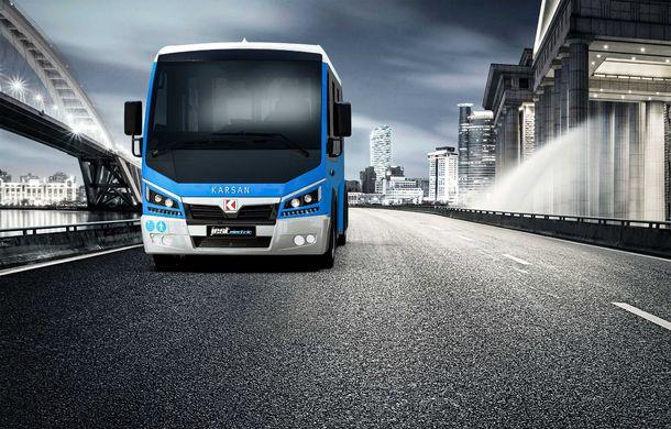 Autobuzul electric cu tehnologie de BMW i3: Karsan Jest Electric are autonomie de 210 kilometri și a primit comenzi inclusiv în România - Poza 3
