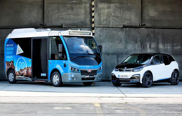 Autobuzul electric cu tehnologie de BMW i3: Karsan Jest Electric are autonomie de 210 kilometri și a primit comenzi inclusiv în România - Poza 1