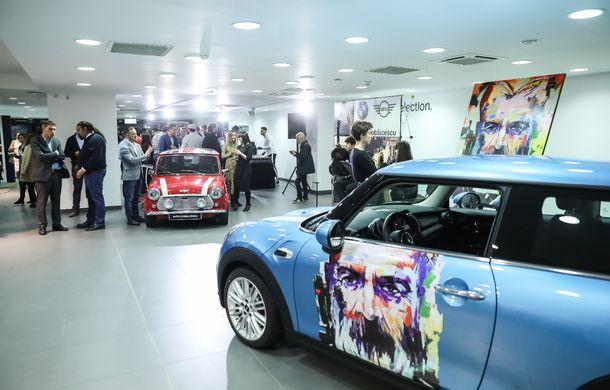 Auto Cobălcescu a inaugurat un showroom Mini în București: evenimentul a fost marcat prin lansarea unui proiect de artă - Poza 6
