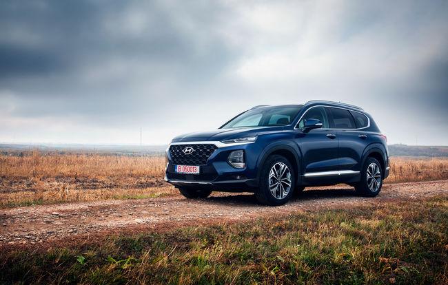 Test drive Hyundai Santa Fe