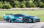Un Jaguar XJ220 C va fi scos la licitație: modelul britanic a fost pilotat de David Coulthard în cursa de 24 de ore de la Le Mans