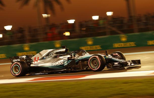 Hamilton încheie sezonul 2018 al Formulei 1 cu o victorie în Abu Dhabi! Vettel și Verstappen au completat podiumul - Poza 1