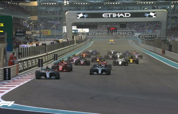 Hamilton încheie sezonul 2018 al Formulei 1 cu o victorie în Abu Dhabi! Vettel și Verstappen au completat podiumul - Poza 2