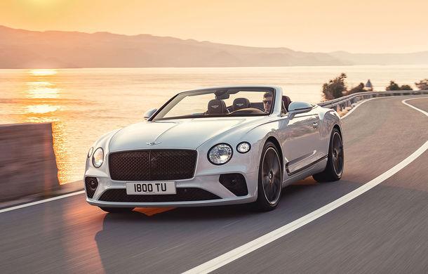 Bentley a prezentat noul Continental GT Cabrio: motor W12 de 635 CP și 19 secunde pentru plierea plafonului din material textil - Poza 1
