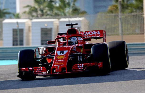 Ferrari a dominat testele din Abu Dhabi: Vettel și Leclerc, cei mai buni timpi - Poza 1