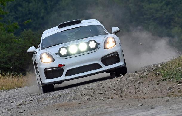 Versiunea de raliu a lui Porsche Cayman GT4 Clubsport ar putea intra în producție: nemții așteaptă 100 de comenzi ferme - Poza 1