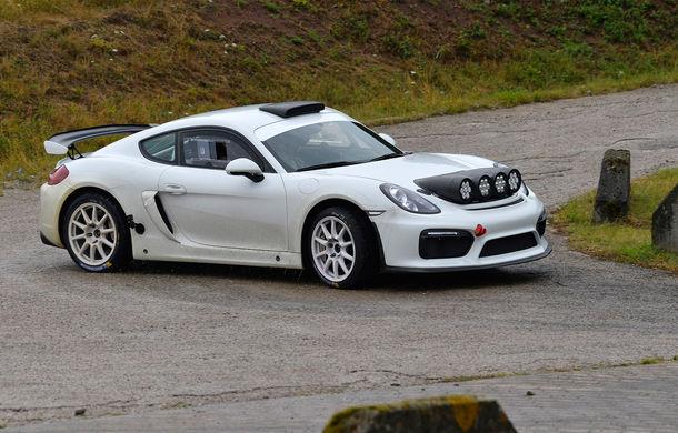 Versiunea de raliu a lui Porsche Cayman GT4 Clubsport ar putea intra în producție: nemții așteaptă 100 de comenzi ferme - Poza 2