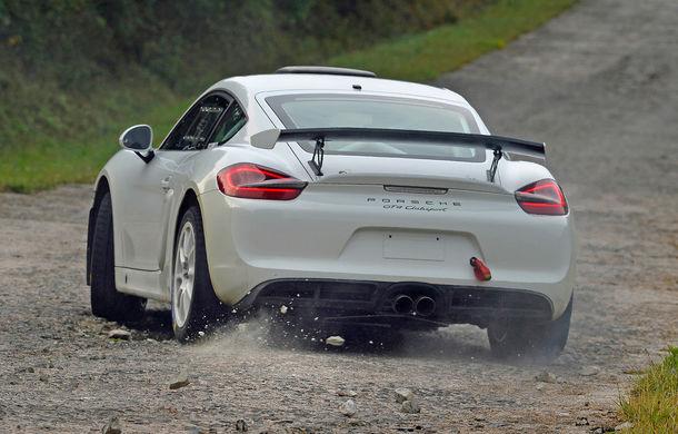 Versiunea de raliu a lui Porsche Cayman GT4 Clubsport ar putea intra în producție: nemții așteaptă 100 de comenzi ferme - Poza 3
