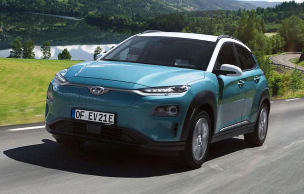 Autonomia lui Hyundai Kona Electric a fost recalculată: SUV-ul electric parcurge 449 de kilometri cu o singură încărcare - Poza 1