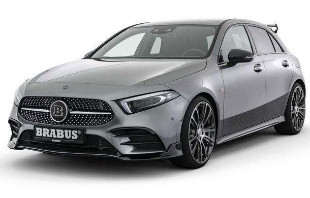 Tratament special din partea Brabus: Mercedes-Benz Clasa A primește modificări estetice minore și ceva mai multă putere - Poza 1