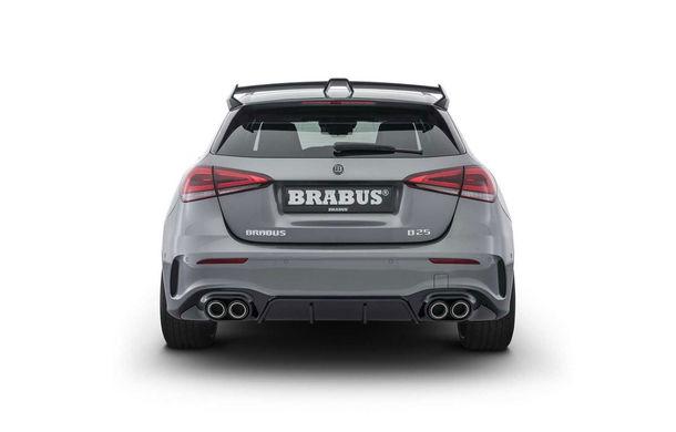 Tratament special din partea Brabus: Mercedes-Benz Clasa A primește modificări estetice minore și ceva mai multă putere - Poza 5