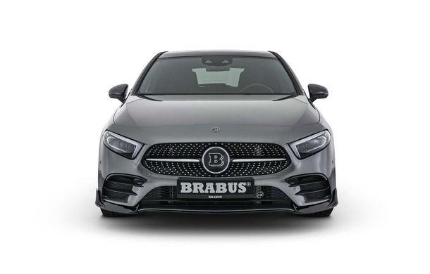 Tratament special din partea Brabus: Mercedes-Benz Clasa A primește modificări estetice minore și ceva mai multă putere - Poza 2
