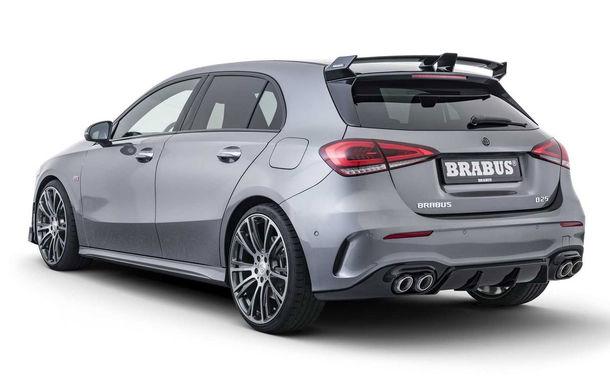Tratament special din partea Brabus: Mercedes-Benz Clasa A primește modificări estetice minore și ceva mai multă putere - Poza 4
