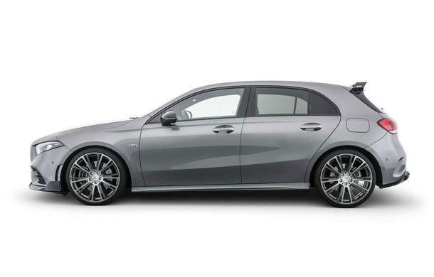Tratament special din partea Brabus: Mercedes-Benz Clasa A primește modificări estetice minore și ceva mai multă putere - Poza 3