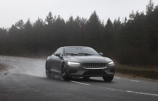 Imagini din timpul testelor cu Polestar 1: coupe-ul hibrid de 600 CP se lansează în 2019 - Poza 1