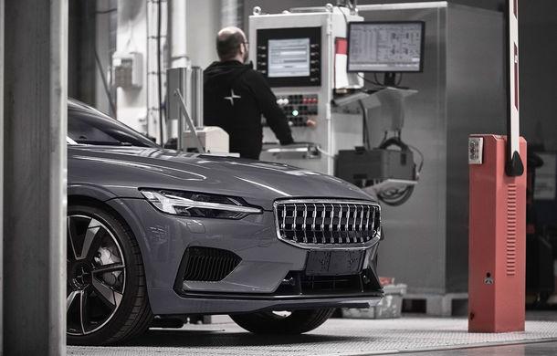 Imagini din timpul testelor cu Polestar 1: coupe-ul hibrid de 600 CP se lansează în 2019 - Poza 5