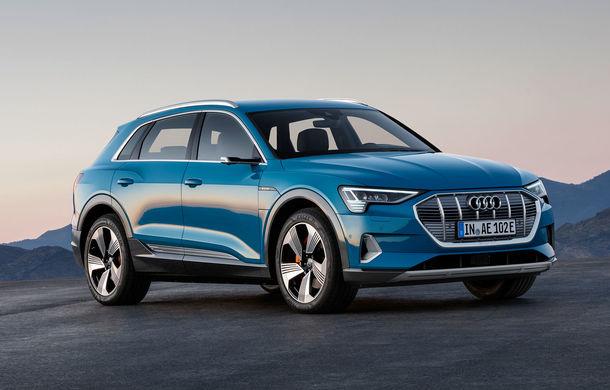 Audi pregătește versiuni noi pentru SUV-ul electric e-tron: nemții vor o variantă de performanță de 650 CP - Poza 1