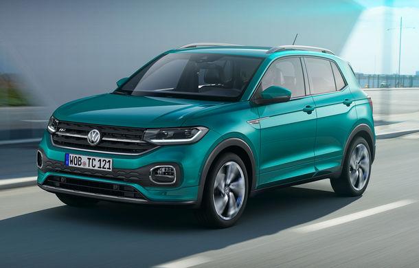 Noul Volkswagen T-Cross este disponibil pentru precomandă: 100 de unități 1st Edition începând de la 19.800 de euro - Poza 1