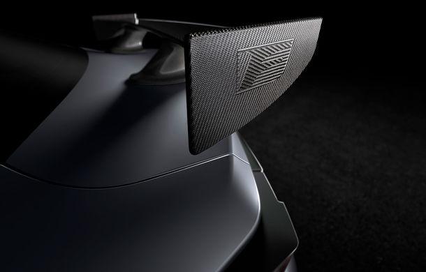 Prima imagine teaser cu viitorul Lexus RC F Track Edition: elemente de caroserie inspirate din motorsport și peste 480 CP - Poza 1