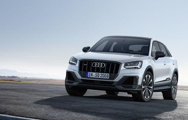 Informații noi despre SUV-ul de performanță Audi SQ2: motor de 300 CP și 0-100 km/h în doar 4.8 secunde - Poza 2