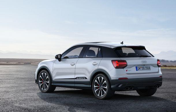 Informații noi despre SUV-ul de performanță Audi SQ2: motor de 300 CP și 0-100 km/h în doar 4.8 secunde - Poza 7