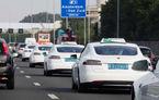 Vești dintr-o lume paralelă: 70% dintre cele un milion de curse de taxi bifate în acest an pe aeroportul din Amsterdam au fost realizate de mașini electrice din gama Tesla