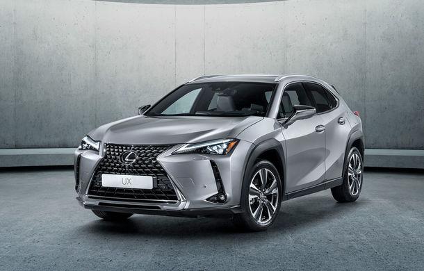 Lexus plănuiește o versiune electrică pentru SUV-ul UX: japonezii au înregistrat denumirea UX300e - Poza 1
