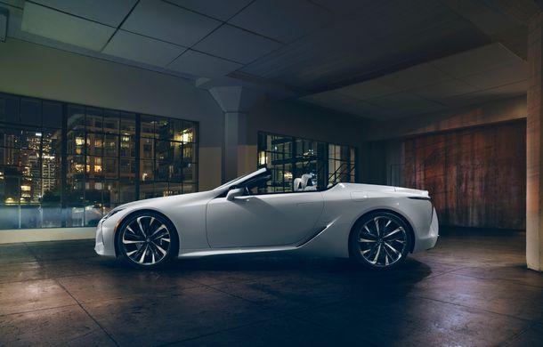 Primele imagini cu Lexus LC Convertible Concept: prototipul niponilor va fi expus la Detroit și anunță o versiune de serie - Poza 5