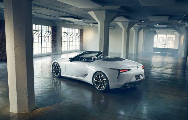 Primele imagini cu Lexus LC Convertible Concept: prototipul niponilor va fi expus la Detroit și anunță o versiune de serie - Poza 6