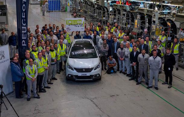 Sărbătoare în cadrul Peugeot: SUV-ul 2008 a ajuns la un milion de unități produse în cadrul fabricii din Mulhouse - Poza 1