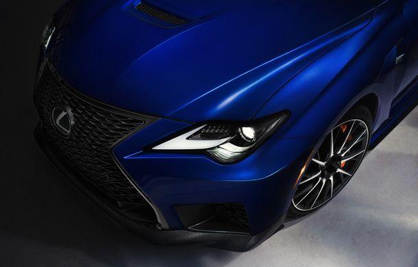 Lexus RC F facelift, imagini și detalii oficiale:rivalului lui BMW M4 va fi expus la Detroit - Poza 9